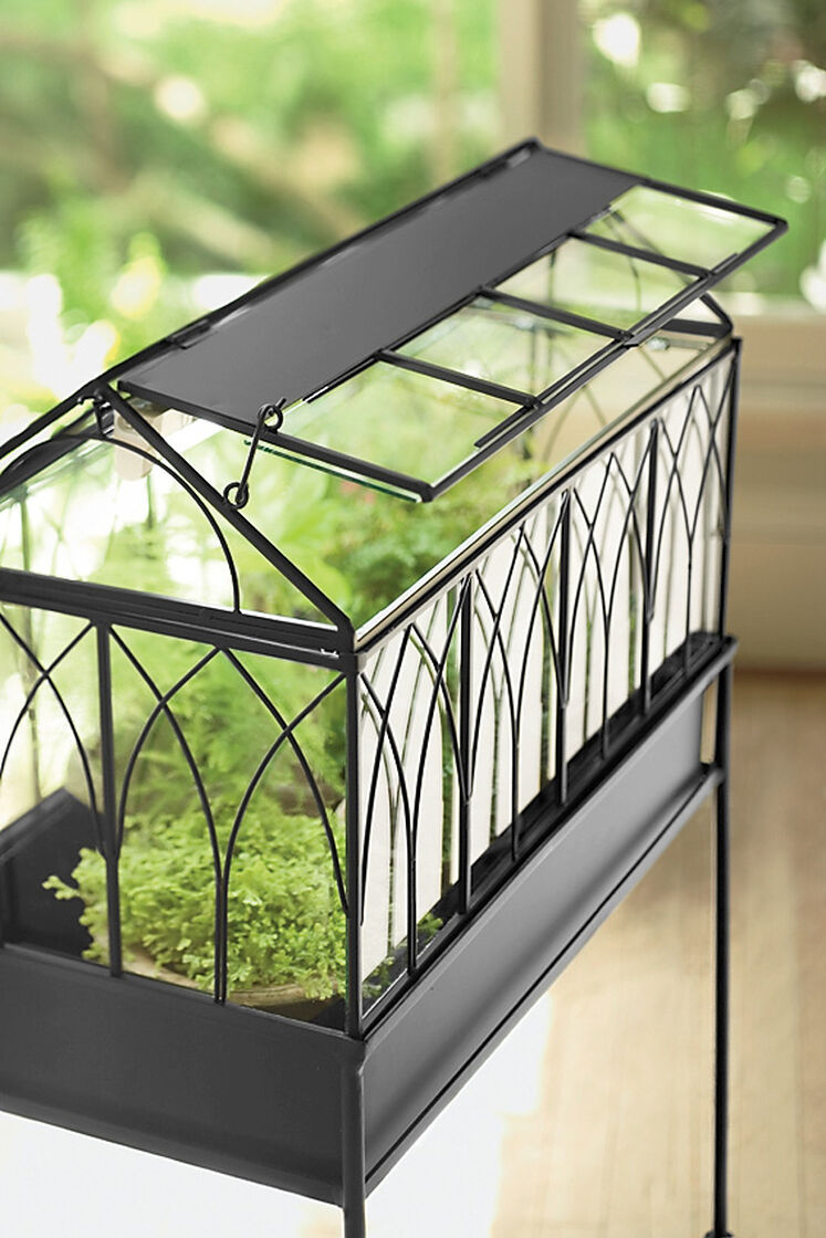 Wardian Case With Grow Light Buy From Gardener S Supply