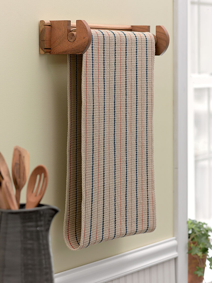 Kitchen Gardeners Endless Towel Rack Farmhouse Kitchen Towel Rack Gardenerscom