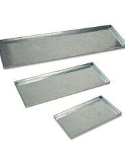 Galvanized Shelf Liners, Set of 3