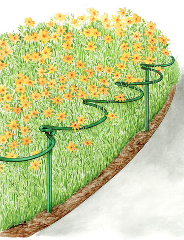 """12"""" Tidy Path Supports, Set of 6"""