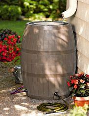 4-Port Deluxe Rain Barrel