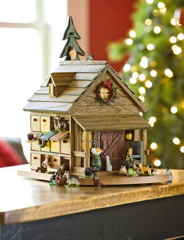 Woodland Cabin Advent Calendar