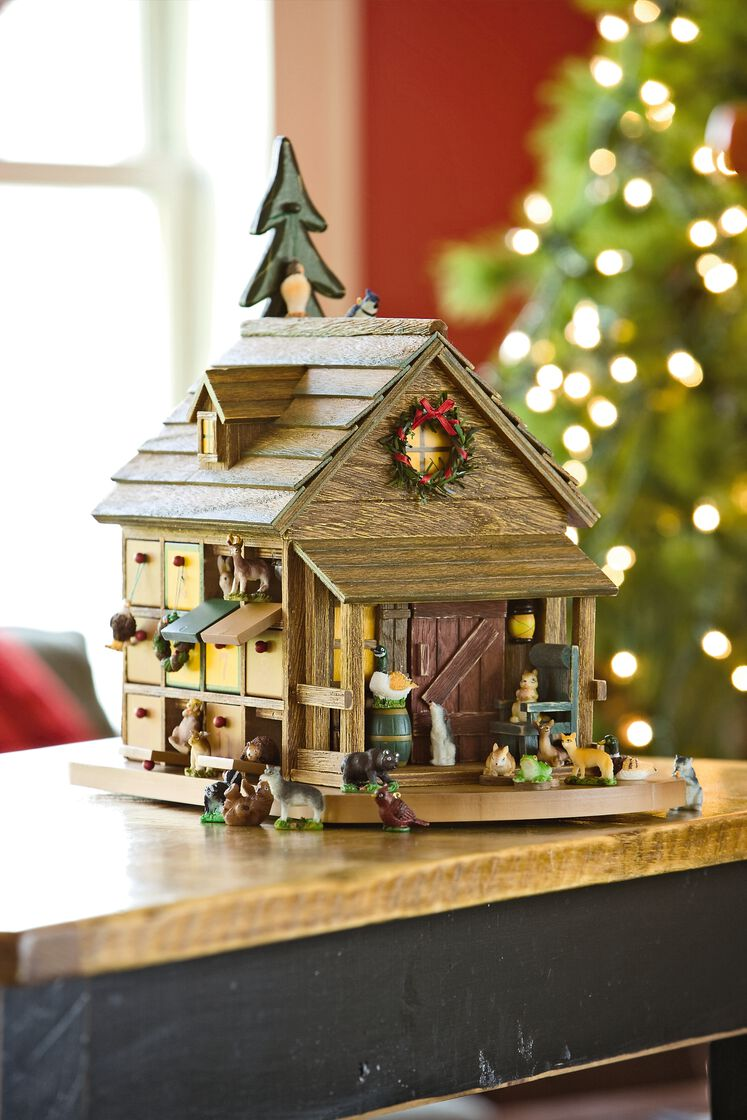 Woodland Advent Calendar Wooden Advent Calendar
