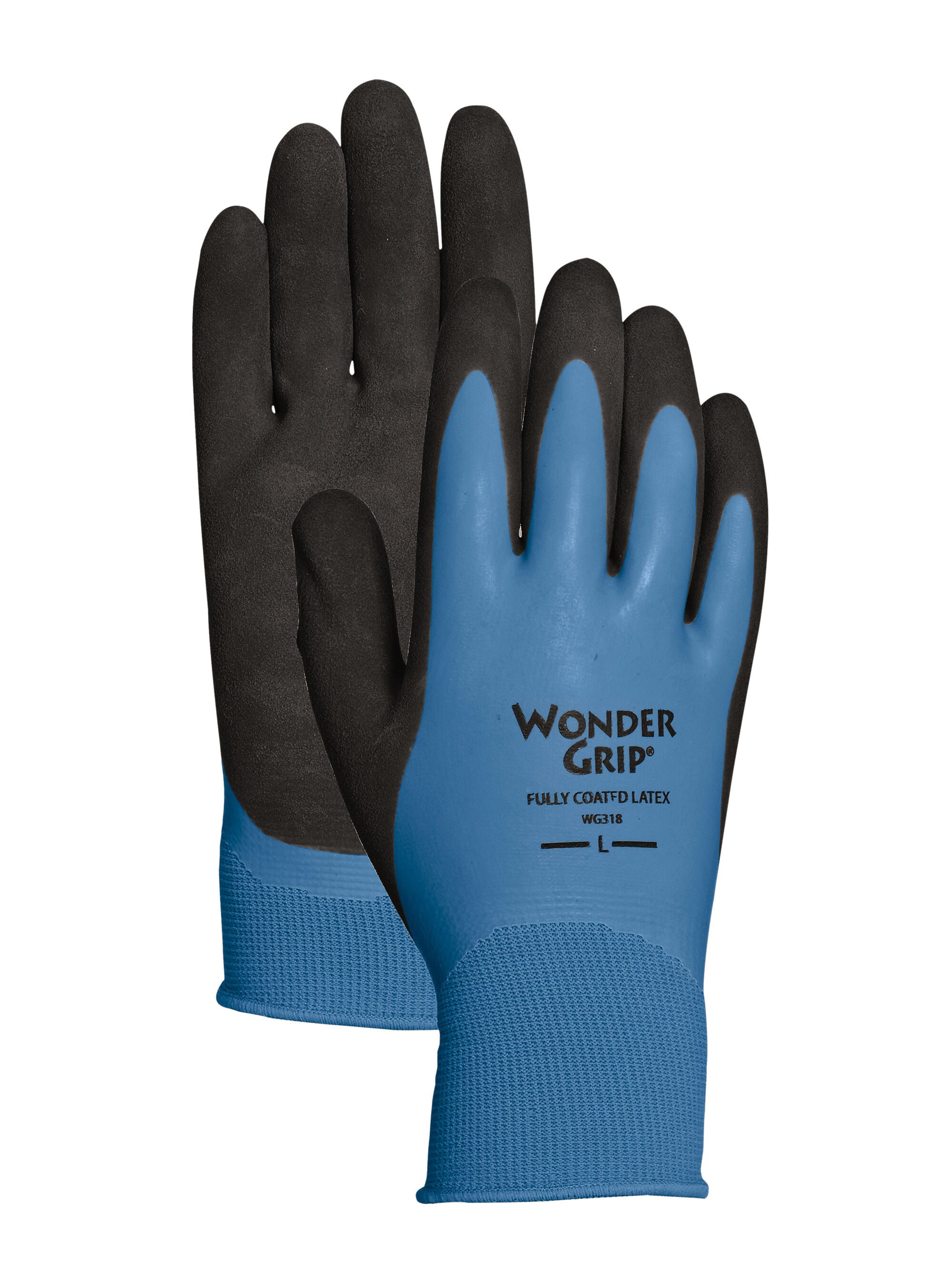 Black gardening gloves - Wonder Grip 174 Waterproof Gloves