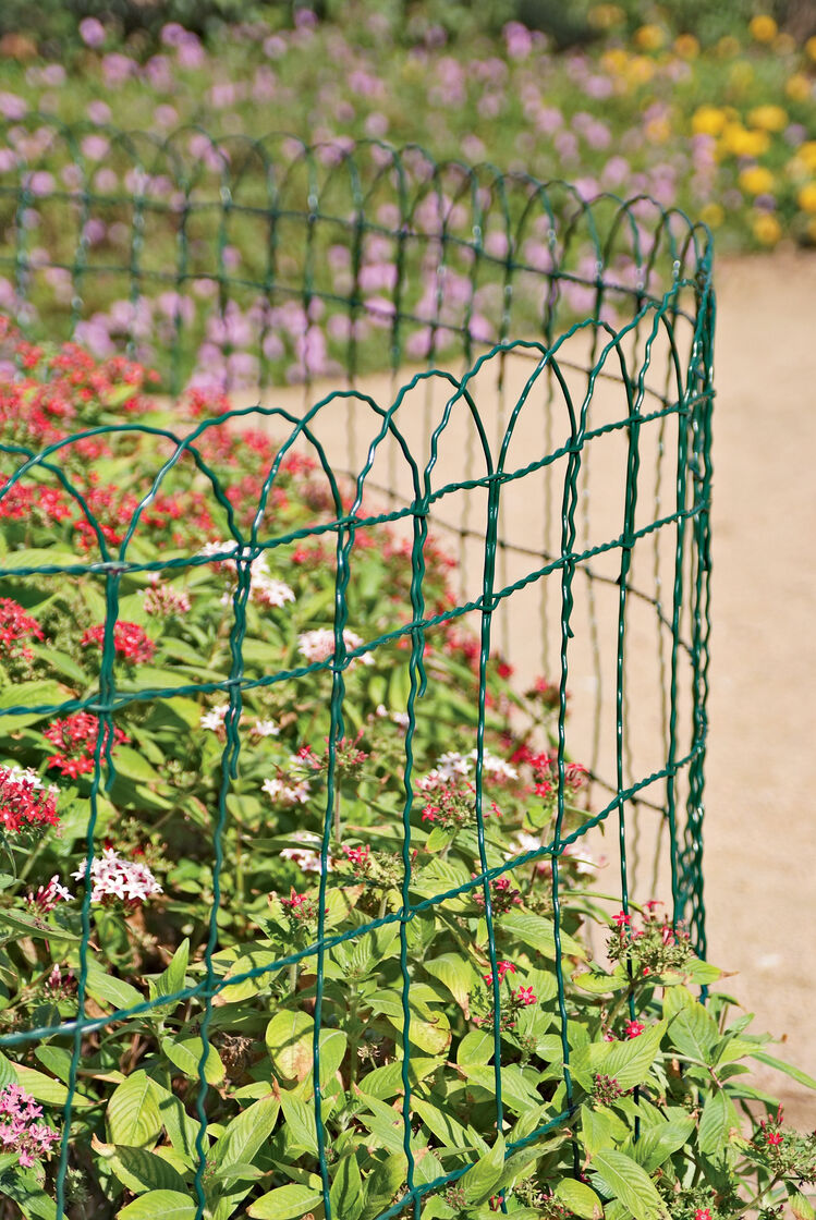 Decorative Wire Border Fence In 4 Heights