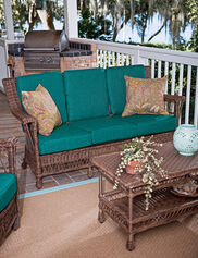 Legacy Outdoor Wicker Sofa