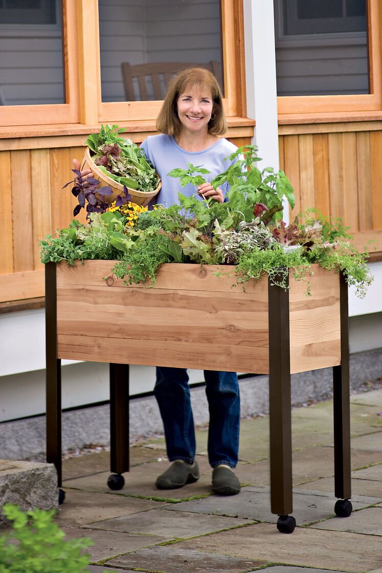 Elevated Garden Beds on Legs Elevated Planter Box Made in USA