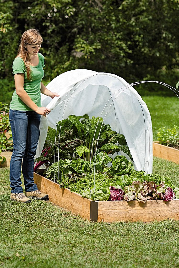 Super Hoops For Floating Garden Row Covers And Frost