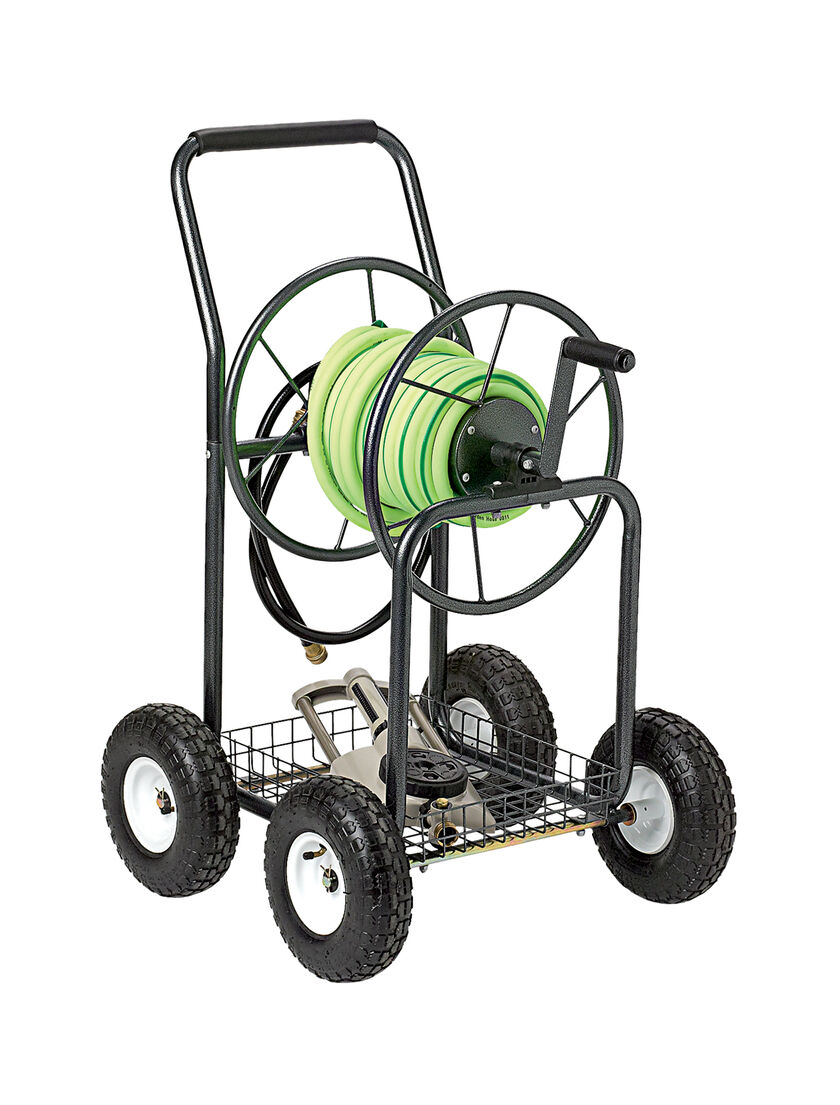 Hose Reel Cart Garden Hose Holder Hose Cart Gardeners Supply