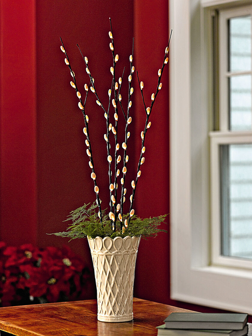 Pussy Willow Lights Buy From Gardener S Supply
