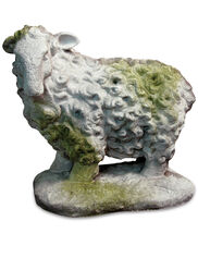 Scottish Sheep Garden Sculpture