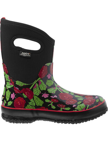 Women's Classic Rose Garden Mid Boots by Bogs®