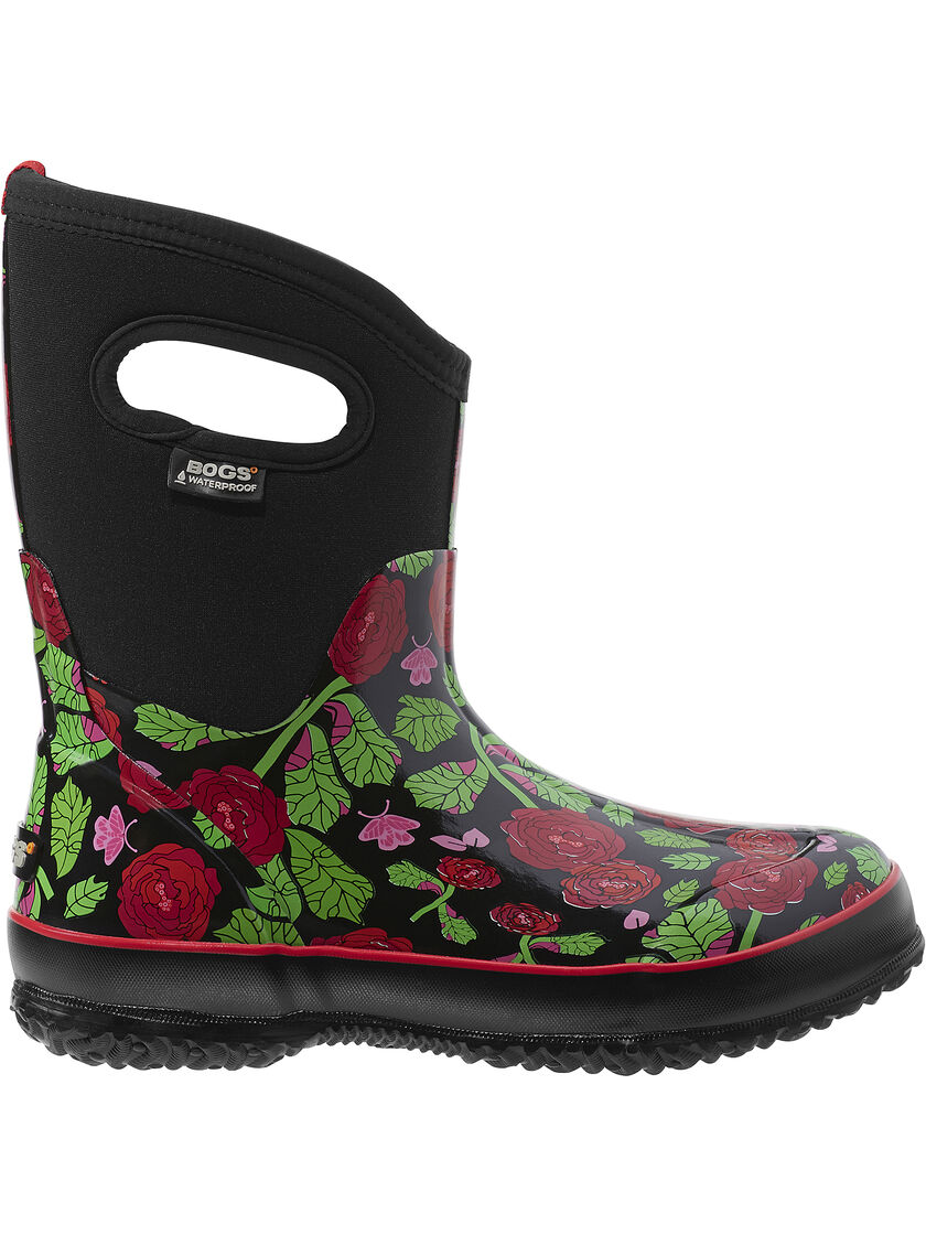 garden boots print insulated waterproof boots by bogs 174