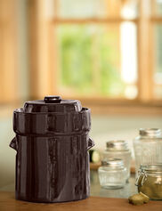 Complete Fermentation Crock, 1.3 Gallon