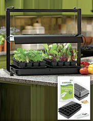 Compact Tabletop Garden Starter® Grow Light Kit