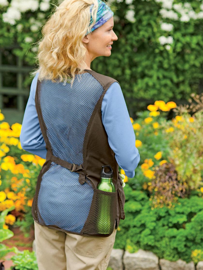 Gardening Clothes Best Buds Garden Vest Unisex Sizes Xs Xxl