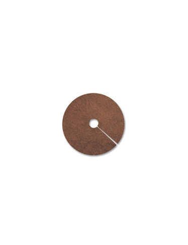 "24"" Coco Fiber Tree Rings, set of 2"
