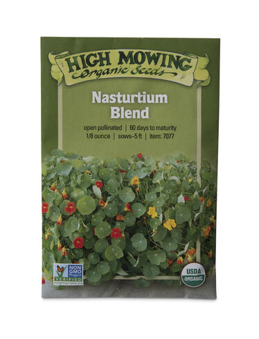 Nasturium Blend Organic Seeds