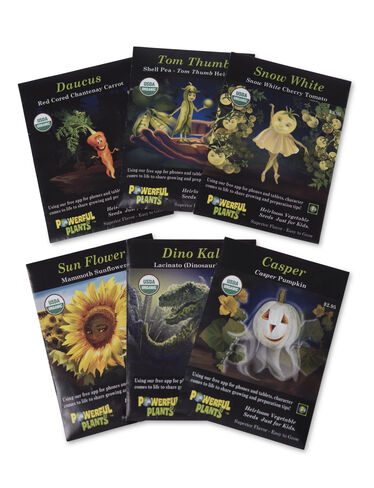 Powerful Plant Seeds, Set of 6