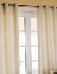 "*84"" L Insulated Grommet Curtains shown."