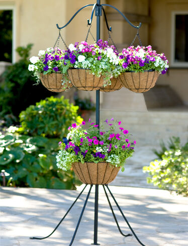 *Center and hanging baskets are sold separately.