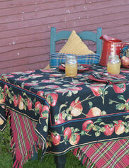 "Applicious Tablecloth, 54"" Square"