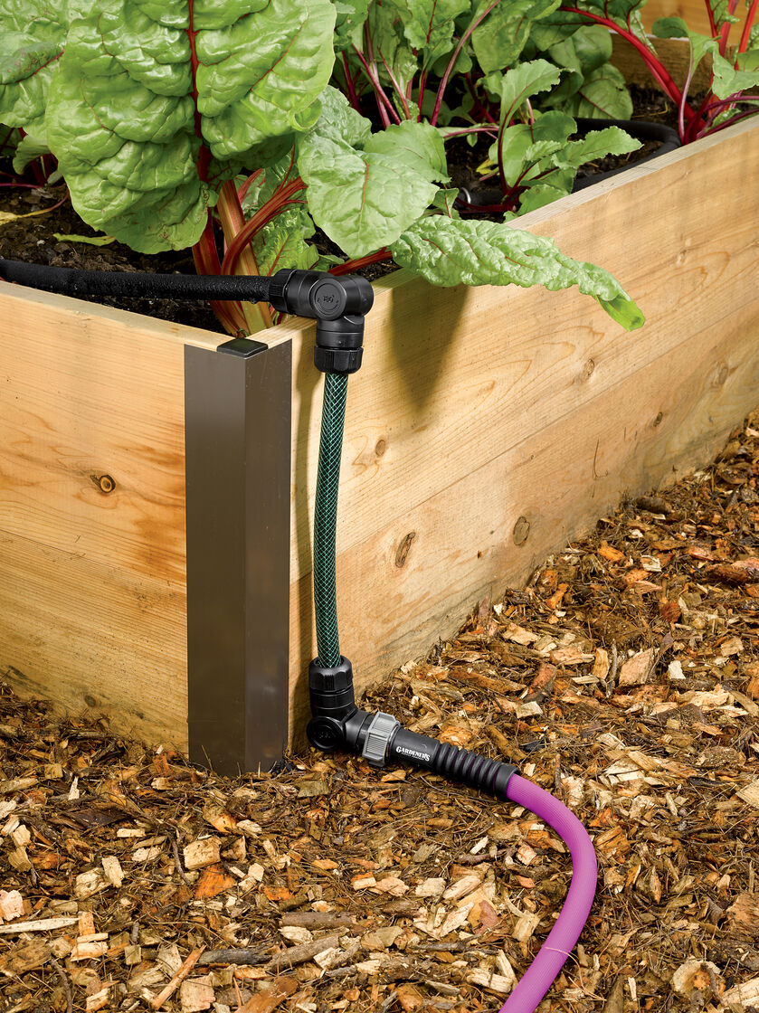 Raised Bed Drip Irrigation System Snip N Drip Gardener
