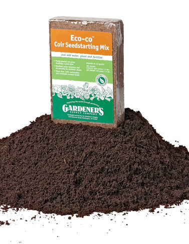 Eco-co® Coir Seedstarting Mix Seed Starting, Seedling, Seedstarting Supplies, Gardening, Seed-Starting, Garden