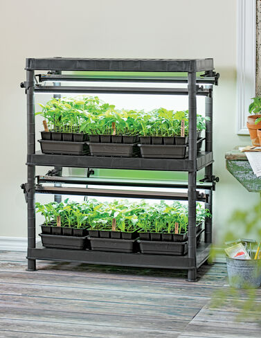 Stack-n-Grow Light System Seed Starting, Seedling, Seedstarting Supplies, Gardening, Seed-Starting, Garden