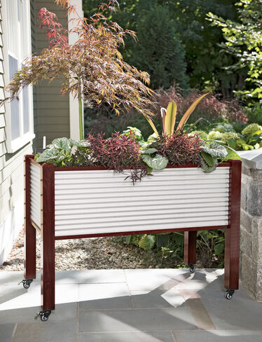 Galvanized Elevated Raised Bed