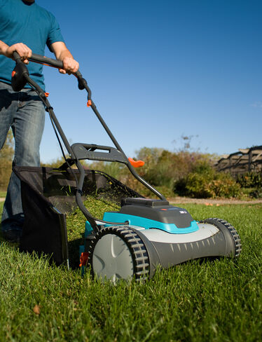 Rechargeable Reel Mower