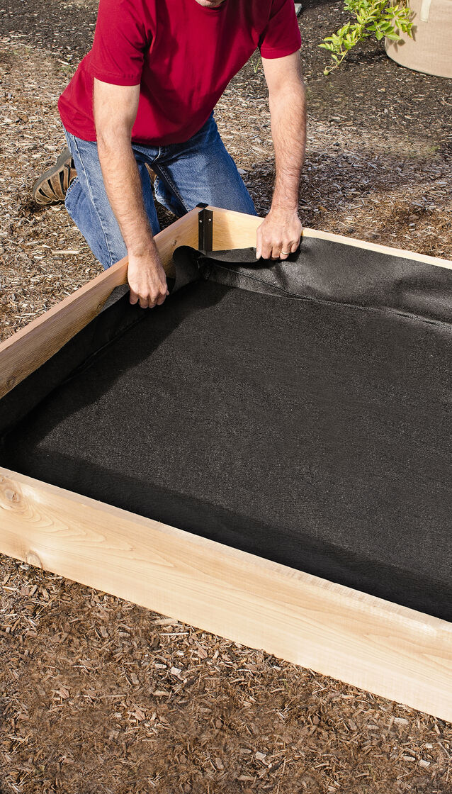 Raised Bed Liners in Four Sizes Gardeners Supply