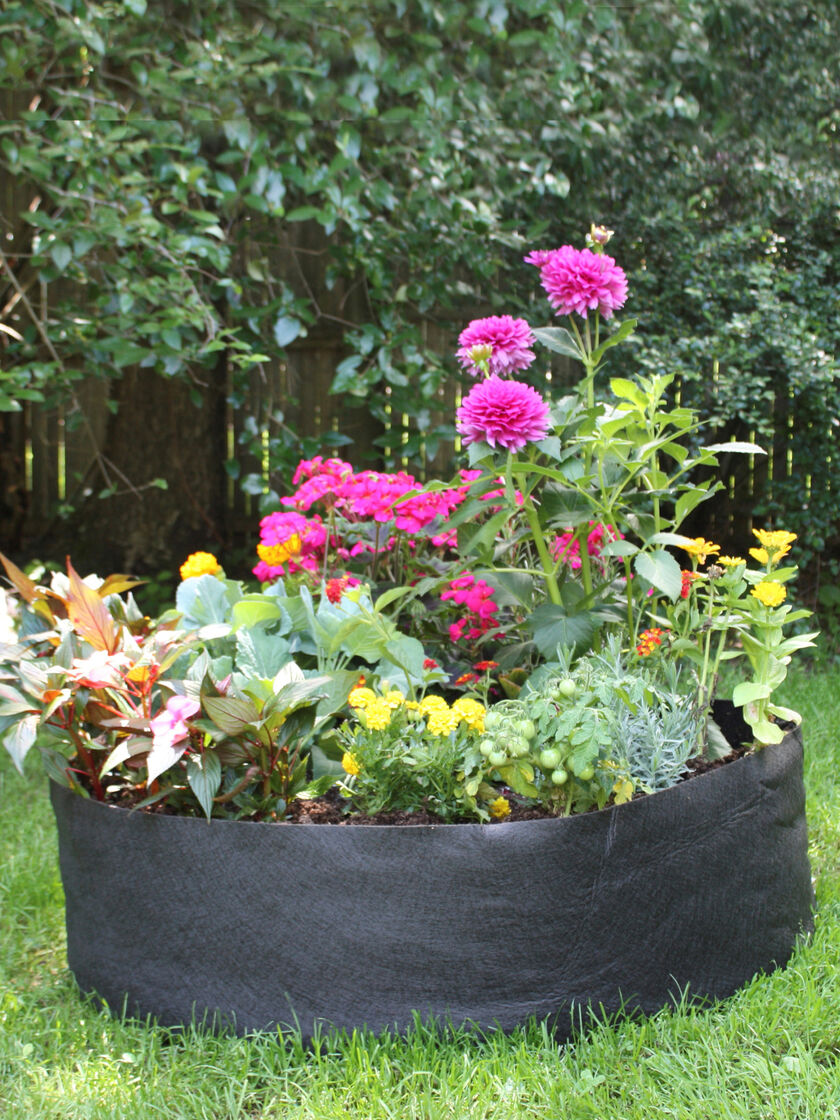 Big Bag Bed Raised Garden Bed in a Fabric Grow Bag Gardenerscom
