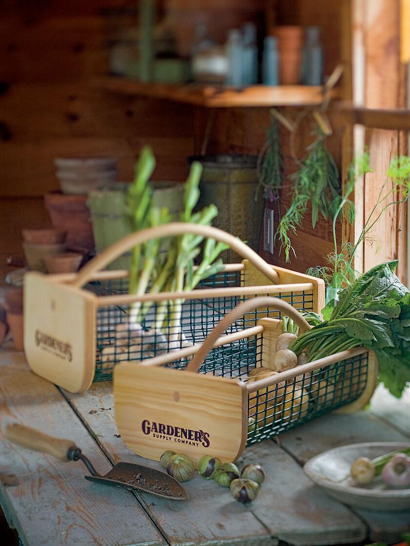 Garden Hods Garden Harvest Baskets Gardeners Supply