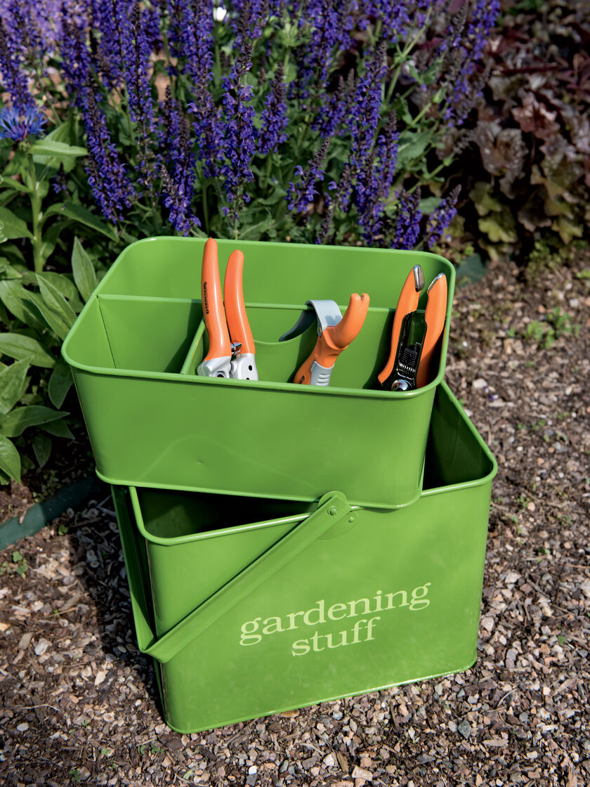 Gardening Gift Set Garden Tool Caddy with Hand Tools