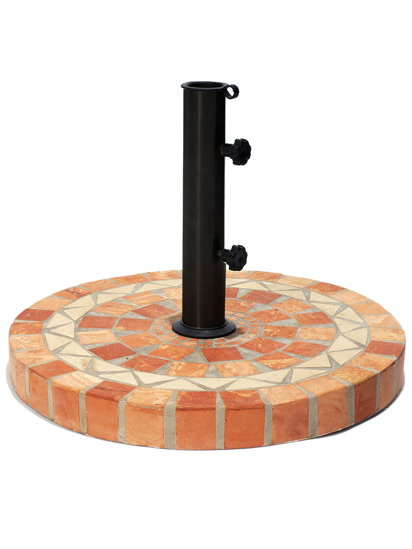 Stone Umbrella Base Patio Umbrella Stand Outdoor Umbrella Stand