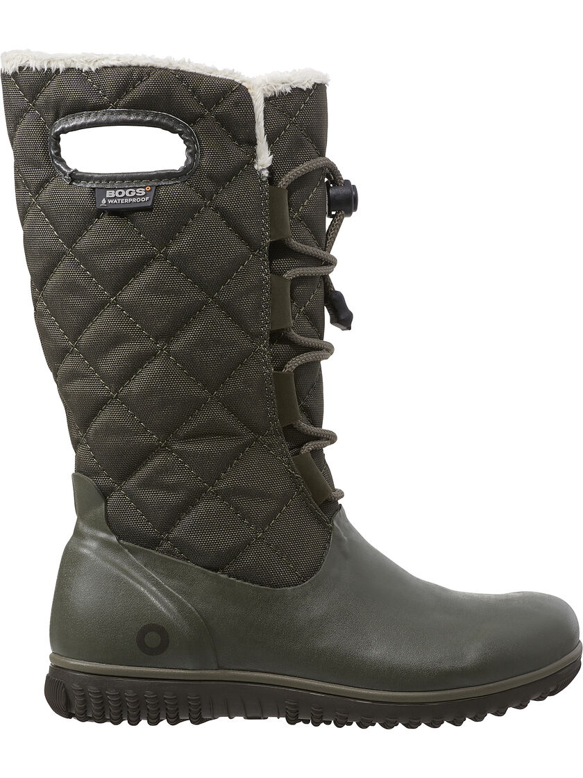 Insulated Waterproof Boots Women S Juno Lace Boots By Bogs 174