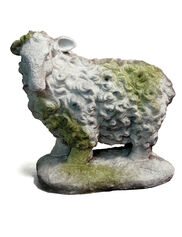 Scottish Sheep Statue