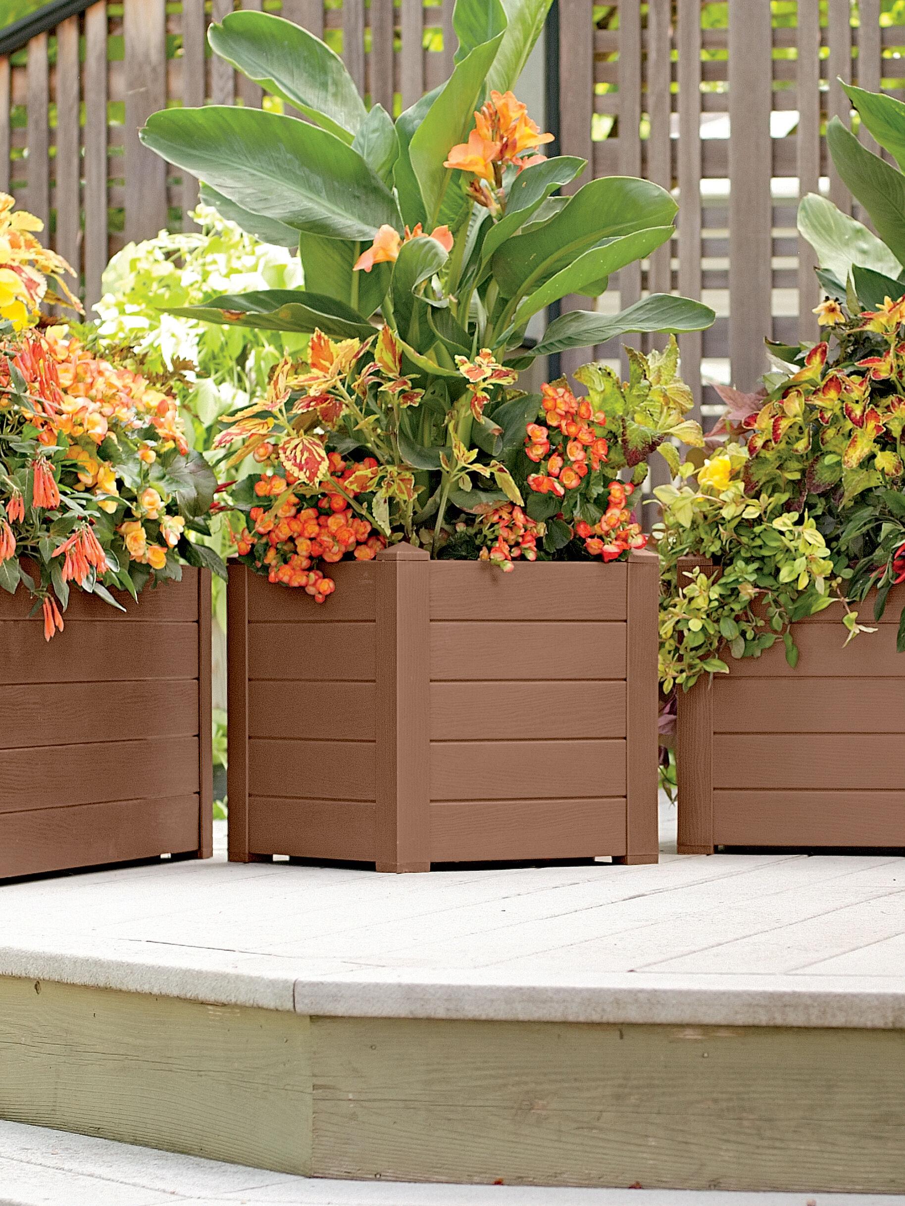 Patio Planters Amp Container Gardens Gardeners Com