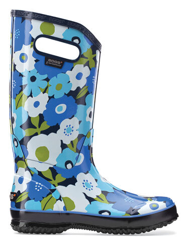 Women's Spring Flowers Rain Boots