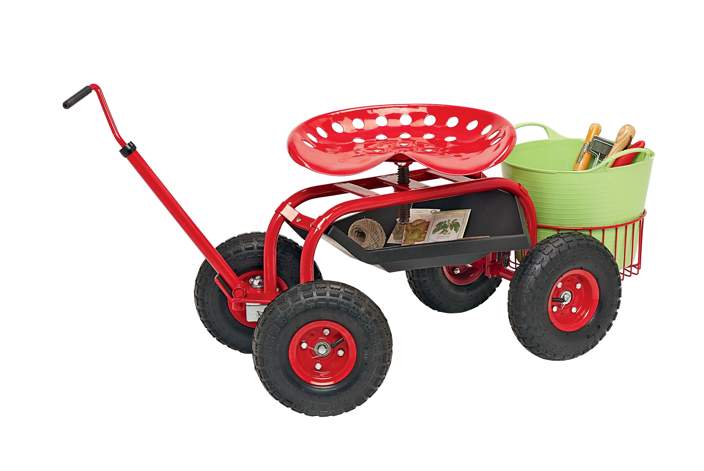 Tractor Scoot Rolling Garden Seat Gardeneru0027s Supply