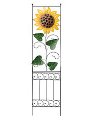 Garden Wall Trellis, Sunflower