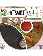 Grow Your Own Hot Sauce Seedsheet