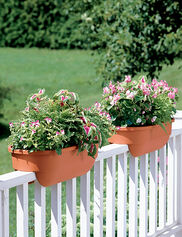 "24"" 2 x 4 Railing Planter"
