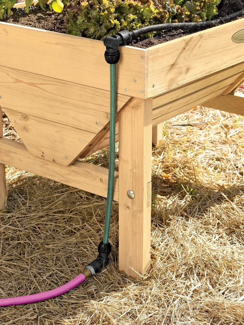 Raised Bed Drip Irrigation System Snip n Drip Gardener