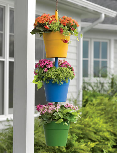 Cascading Hanging Planters, Set of 3