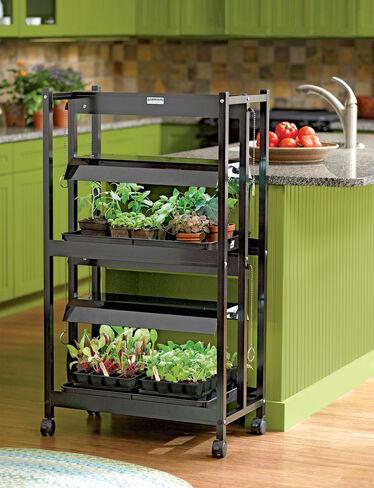 Compact 2-Tier SunLite® Garden