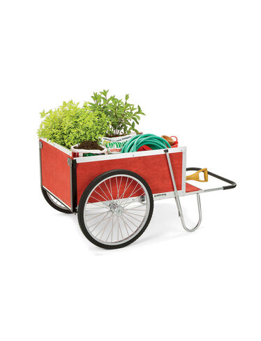 Large <i>Gardener's Supply</i> Cart, Red