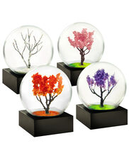 Seasons Mini Snow Globes, Set of 4