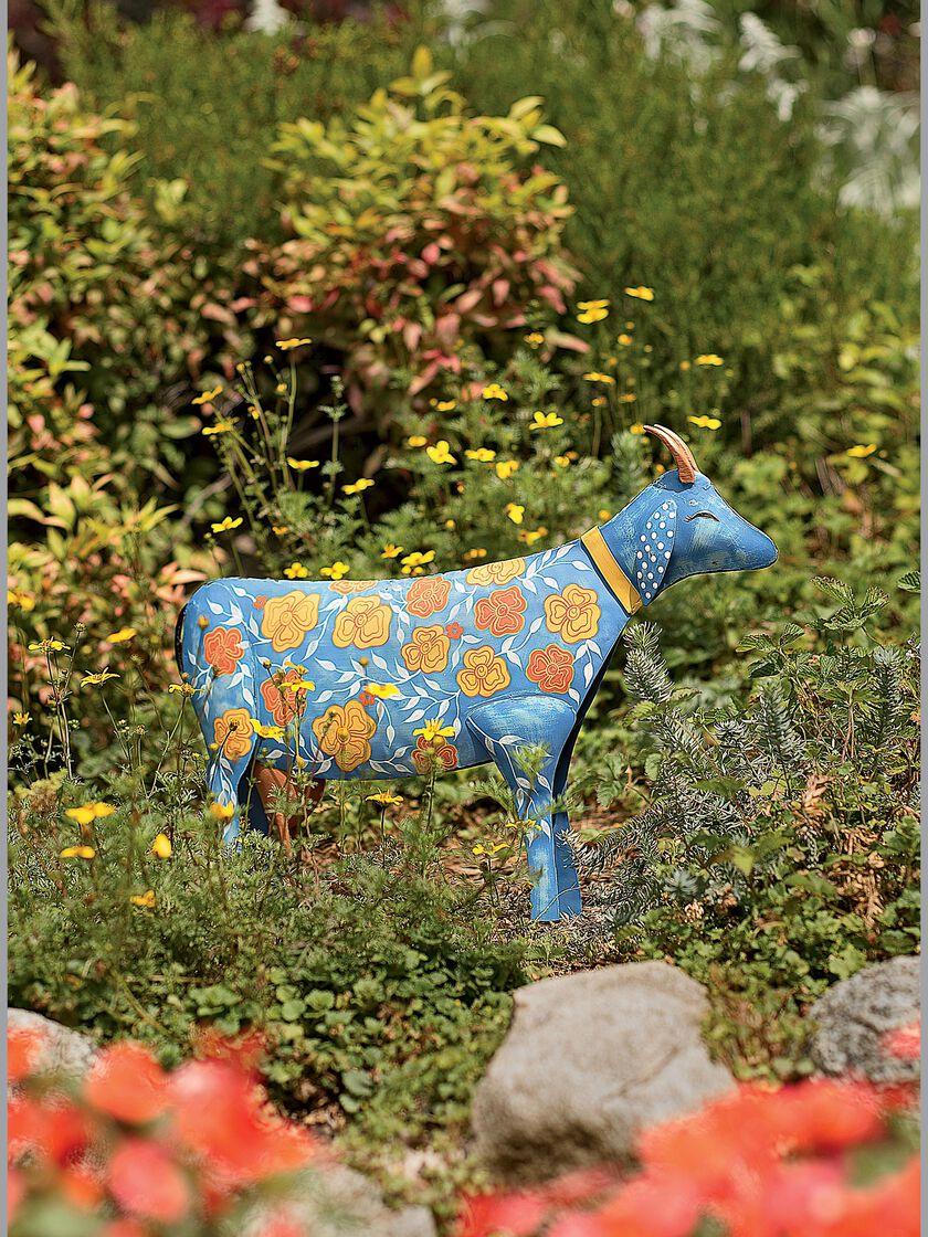 Unique lawn ornaments - Glory The Goat Yard Art Statue